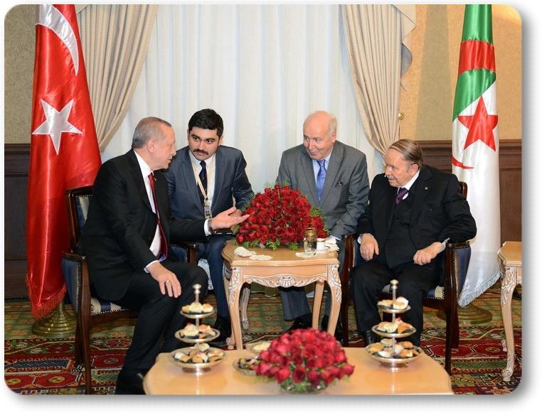 Cumhurbaşkanı Erdoğan, Cezayir Cumhurbaşkanı Buteflika ile görüştü