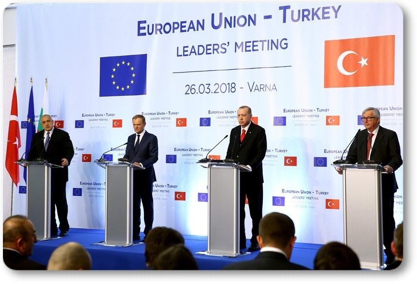 Türkiye ve AB uzun süreli stratejik ortaktır