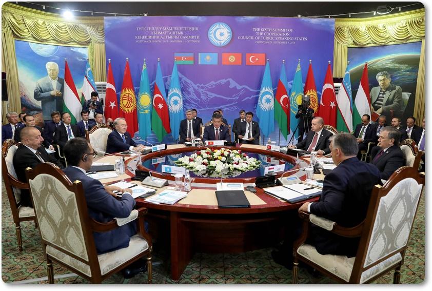 Cumhurbaşkanı Erdoğan, Türk Konseyi 6. Devlet Başkanları Zirvesi'ne katıldı