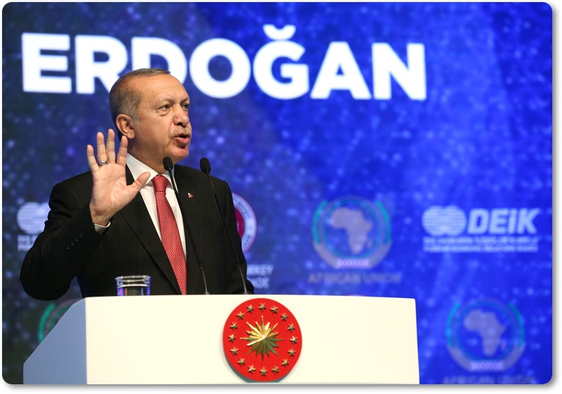 Cumhurbaşkanımız Erdoğan, Türkiye-Afrika Ekonomi ve İş Forumu'na katıldı