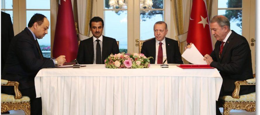 """""""Türkiye ve Katar birbirlerinin kara gün dostu olduğunu defalarca gösterdi"""""""