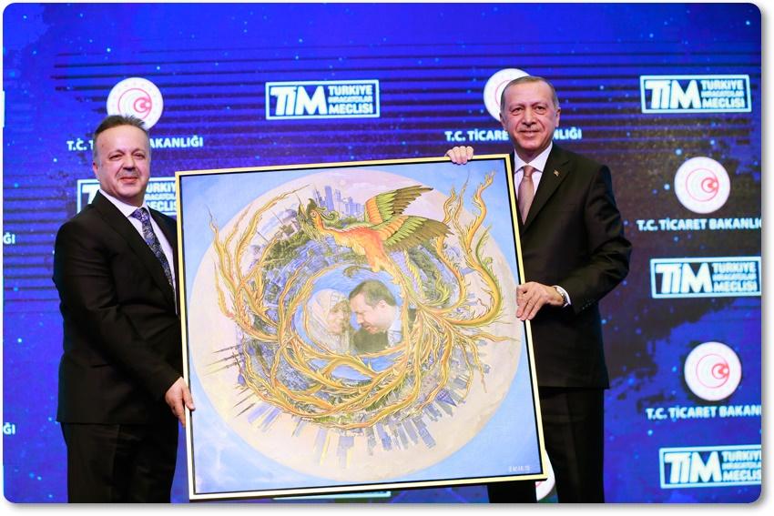 """""""Tesis ettiğimiz istikrar ve güven ortamı sayesinde Türkiye, küllerinden yeniden doğdu"""""""