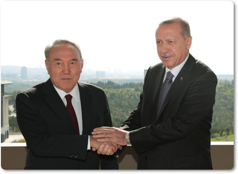 """""""Türkiye-Kazakistan ilişkilerinin mükemmel düzeye ulaşması için çabalarımızı yoğunlaştıracağız"""""""