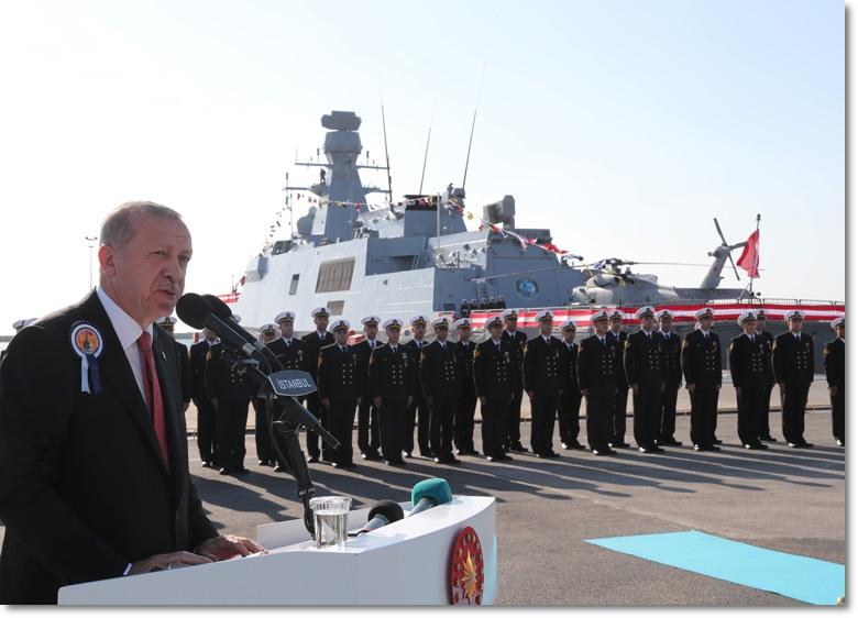 """""""Doğu Akdeniz'deki doğal kaynakların gasp edilmesine yönelik girişimleri kesinlikle kabul etmeyeceğiz"""""""