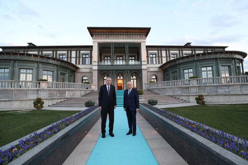 Cumhurbaşkanı Erdoğan ve MHP Genel Başkanı Bahçeli iftarda bir araya geldi
