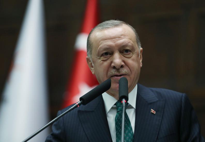 """Cumhurbaşkanı Erdoğan """"Türkiye ekonomisi, taşıdığı potansiyelle daha nice büyük başarı hikâyelerine imza atacaktır"""""""