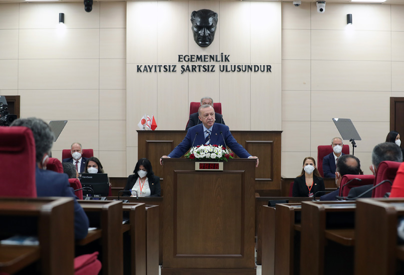"""""""Kıbrıs Davası'nın sahibi, yavru vatanı ile ana vatanı ile büyük Türk Milleti'nin tamamıdır"""""""